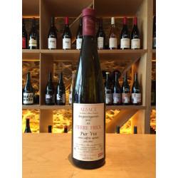 Frick - Alsace  Bergweingarten  Pur vin sans sulfite ajouté 2017  Blanc